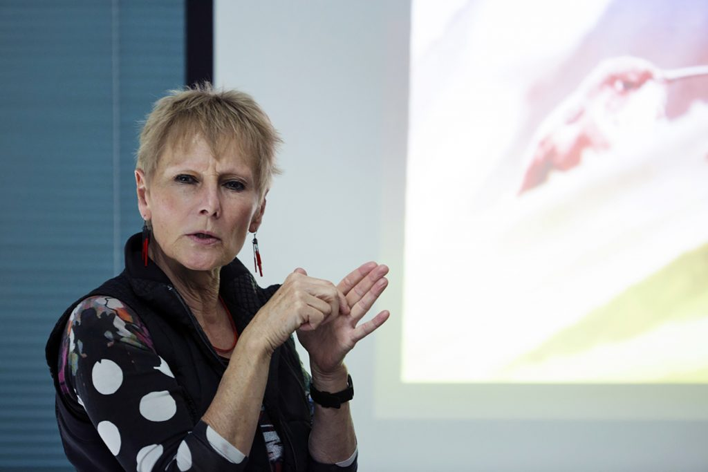 Lecture by Professor Ursula Heise at UCLA, Bird Day LA