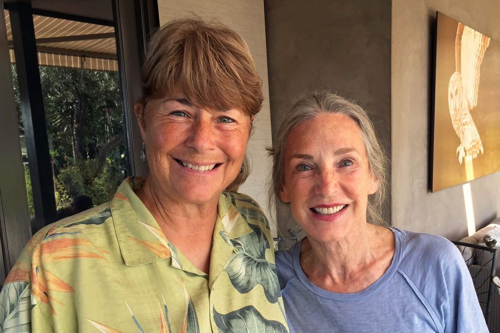 Lisa Fimiani of LMU with Susan Gottlieb